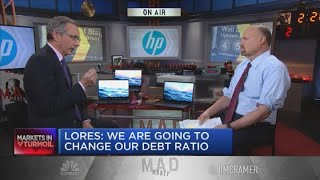 HP CEO talks 'strong' Q1 earnings report, coronavirus headwinds