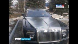Таран самой дорогой машины Челябинска