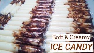 SOFT AND CREAMY MILK CHOCOLATE ICE CANDY