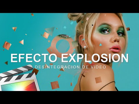 FINAL CUT PRO X TUTORIAL: EXPLOSION DE VIDEO – DESINTEGRACION DE VIDEO –  BLEND MODE FINAL CUT ETC