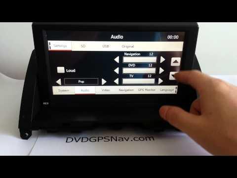 Navigation DVD GPS for Mercedes Benz W204 C300 C350 C250 C200 C180