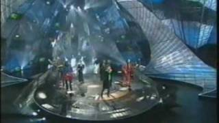 Eurovision 1997 United Kingdom (Winner). Katrina and The Waves Love Shine a Light