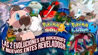 Rockruff  - (Pokémon) - POKÉMON SOL Y LUNA: EVOLUCIONES DE ROCKRUFF! NUEVOS ULTRAENTES UB02 BEAUTY & EXPANSIÓN!