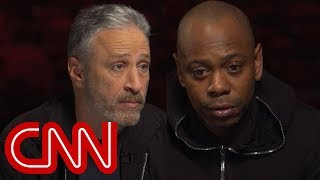 Jon Stewart, Dave Chappelle talk Trump and comedy tour