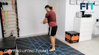 Chopping-lifting z gumą – CHL002