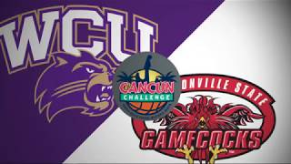 2018 Cancun Challenge | Jacksonville St vs Western Carolina - Full Game