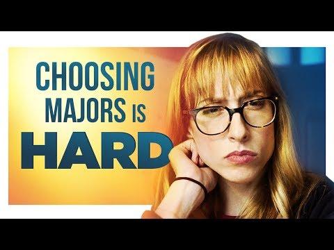 Choosing Majors is Hard