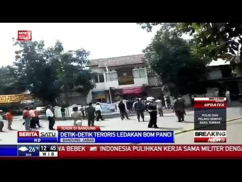 Breaking News: Detik-detik Ledakan Bom Panci di Bandung