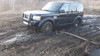 Land Rover Discovery 4 в грязи