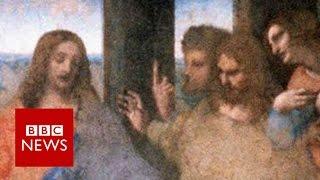 The da Vinci puzzle: Restoring The Last Supper  - BBC News