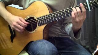 [Solo Guitar] やさしさに包まれたなら -魔女の宅急便 Kiki's Delivery Service