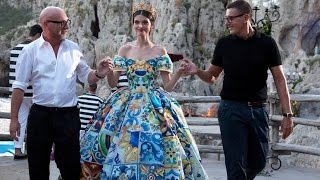Alta Moda: Dolce And Gabbanas Haute Couture In Capri