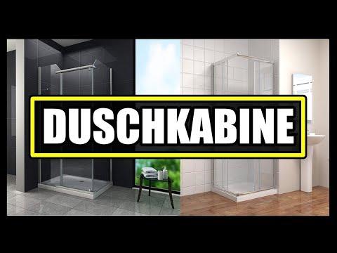 ► BESTE DUSCHKABINEN VERGLEICH ★ Duschkabine kaufen - Duschkabine Falttür & Schiebetür Duschkabine