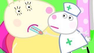 Peppa Pig Official Channel   Miss Rabbit's Boo Boo Moment