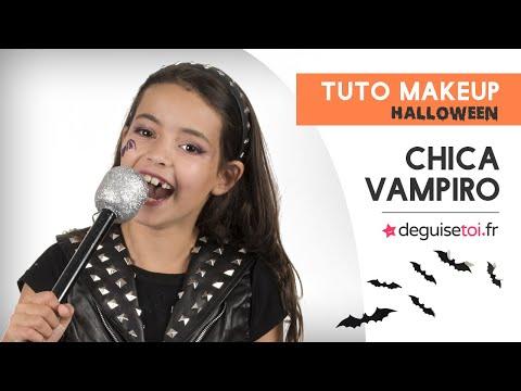 Tuto maquillage Chica Vampiro