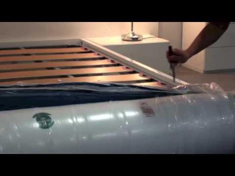 Cómo desenrollar un colchón