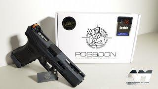 POSEIDON P18 EVO MOD1 CERAKOTE GREY / GBB G18 / Airsoft Unboxing Review