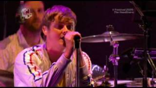 Keane - Everybody's changing (Live V Festival 2009) (High Quality video) (HD)
