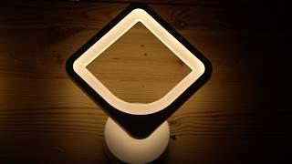 Видео о 8001/1W - GL WH led (24W) бра