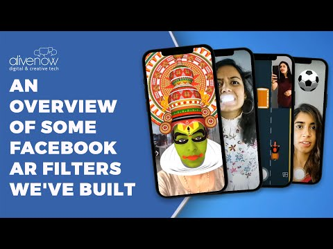 Facebook AR Camera filters Ad
