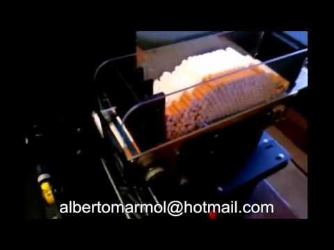 Máquina entubar liar tabaco