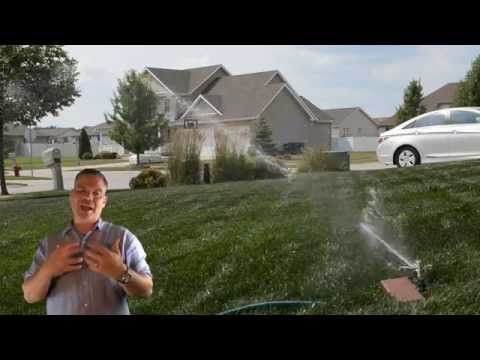 How To Water Your Lawn : Watering Tips
