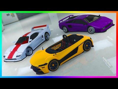 GTA ONLINE NEW HIDDEN UNRELEASED DLC CARS CUSTOMIZATION - TURISMO/INFERNUS CLASSIC & HIJAK RUSTON!