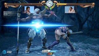 E3 2018 - Soulcalibur VI - Zasalamel Vs Ivy - ESL Arena