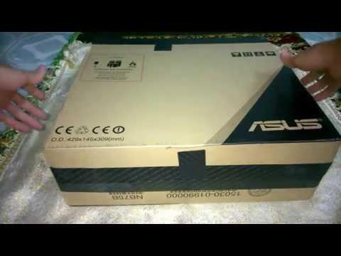 ทดสอบการ Unbox Asus K550JK