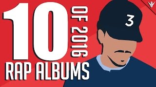 Top 10 Rap/Hip-Hop Albums of 2016