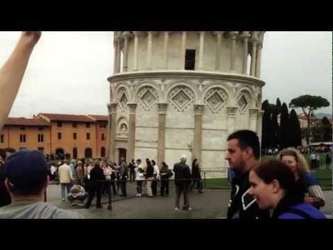 Batti un cinque sotto la torre di Pisa