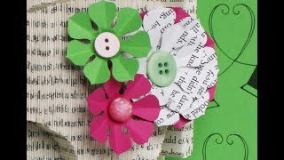 Paper Flower Template Tutorial