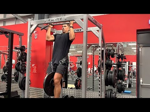 Parallel-Grip Chin-Up, Quarter Rep at Top