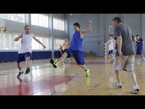 """Футбольная тренировка БК """"Самара"""""""