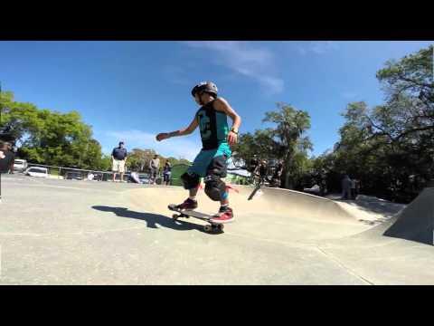 Brando Delgado Grind For Life New Smyrna Beach Skatepark 2016