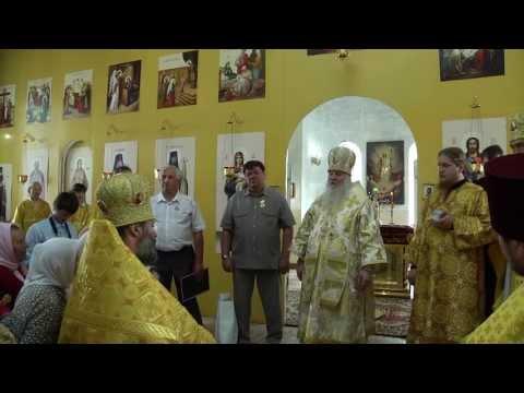 В храме будут пребывать святые мощи