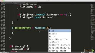 Mastering JavaScript: Creating an Event Dispatcher | packtpub.com