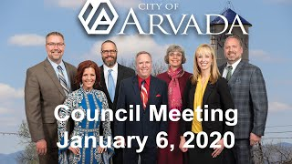 Preview image of City Council Meeting - January 6, 2020