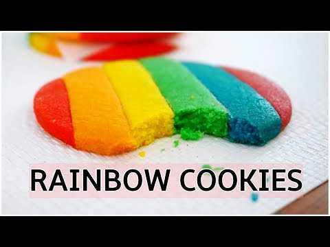 Rainbow Cookies Recipe – How To Make Rainbow Cookies
