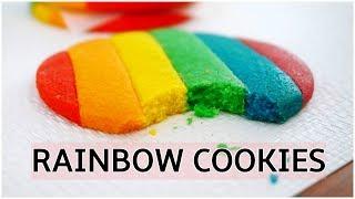 Rainbow Cookies Recipe – How To Make Rainbow Cookies