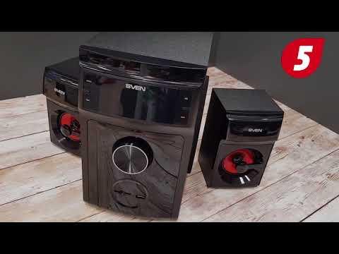 Акустическая система SVEN MS-302 Black