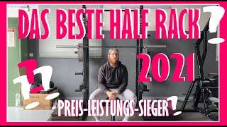 BESTES HALF RACK 2021? Stronggains Half Rack SR2.1 - REVIEW - Preis-Leistungs-Sieger!