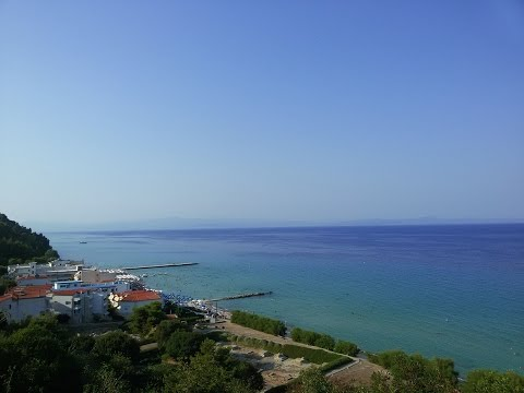 Греция Халкидики. Полуостров Касандра, курорт Каллифея | Periscope