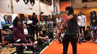 Larry Battles a Kid Cypher part 1| Les Twins Stop Drop Dance | Camden, NJ 8-26-17