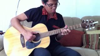 Adhitia Sofyan - Blue Sky Collapse Guitar Cover