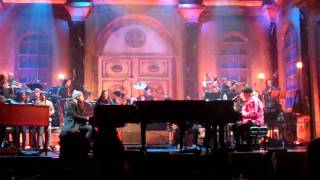 """Rehearsing With  Dr. John Duet  doing """"Such A Night""""  for his Rock & Roll Hall Of Fame Induction."""