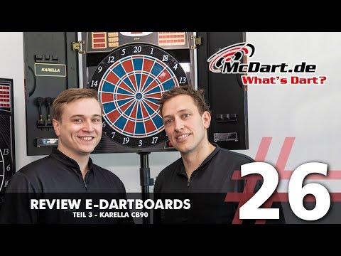 What's Dart? #26 - E-Dartboards - Karella CB90 [Review]
