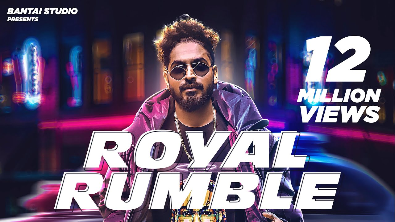 Royal Rumble Song Lyrics in English - Emiway Bantai