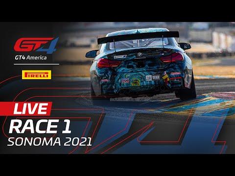 ブランパンGTワールドチャレンジ・アメリカ(ソノマ)GT4X レース1 無料ライブ配信動画