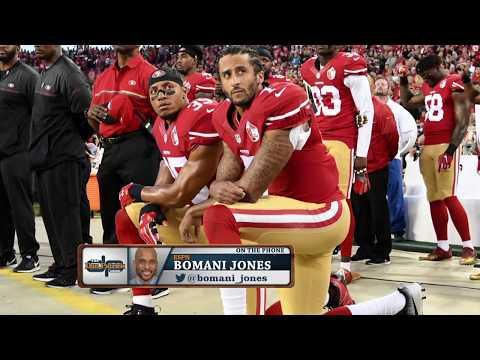 ESPN's Bomani Jones Discusses Colin Kaepernick & Why the QB Can't Find a Backup NFL Job | 6/20/17